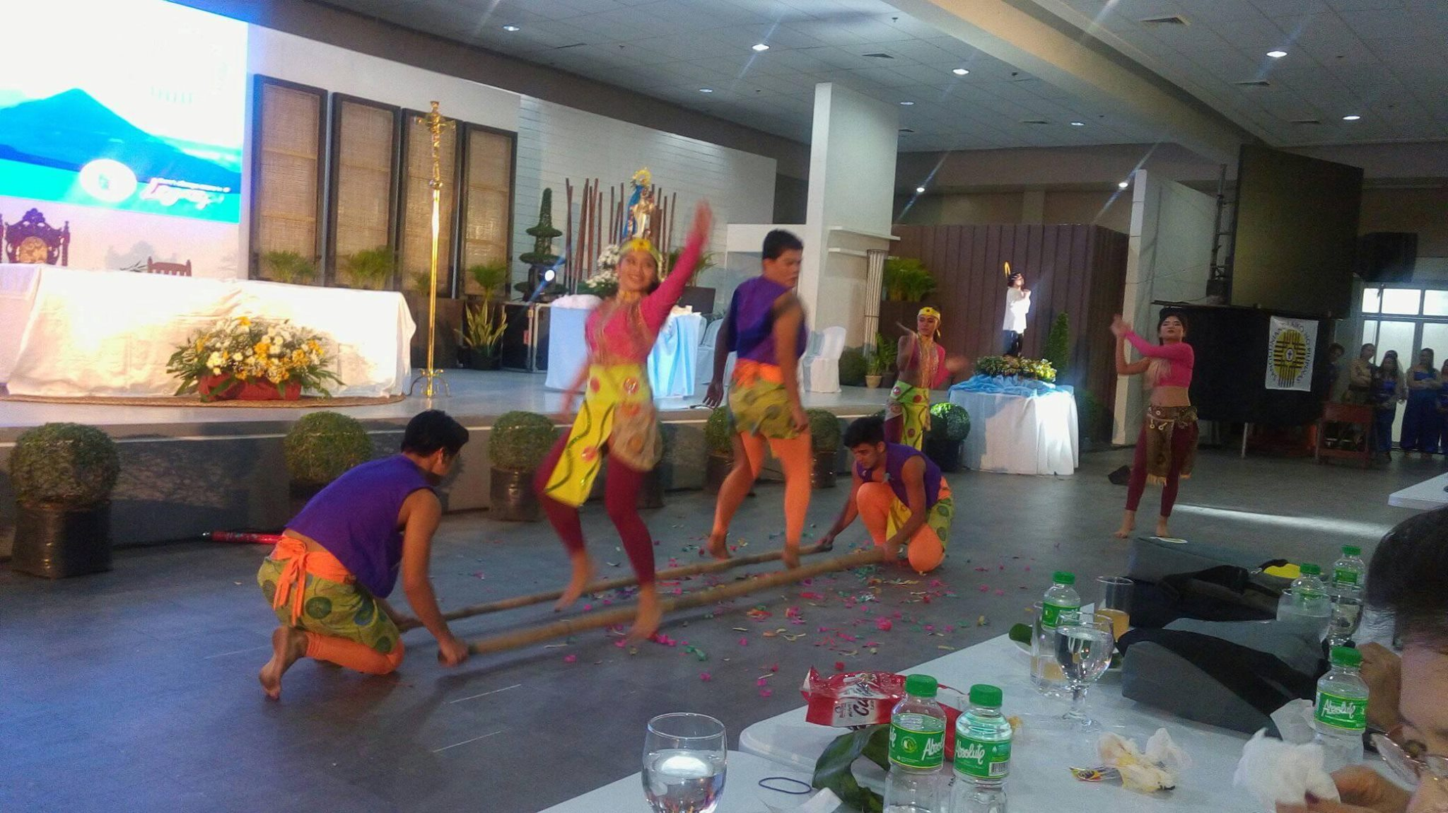 Ibalon dance performed during the Welcome dinner for Sangguniang Laiko delegates to the 2017 Biennial National Convention in Legazpi City